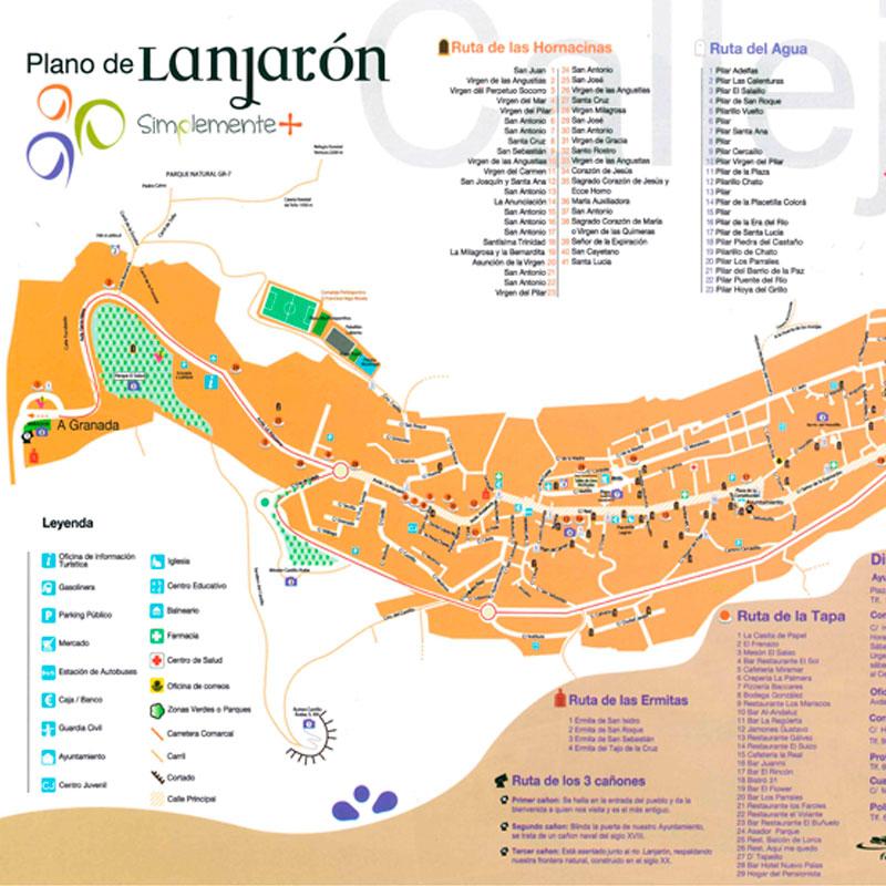 Callejero de Lanjarón
